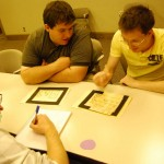 Usability testing the paper prototype