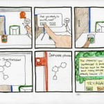 a shot of the iLab storyboard