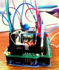 the arduino we used for this prototype