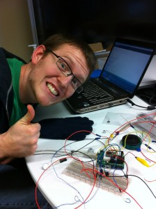 me with the arduino